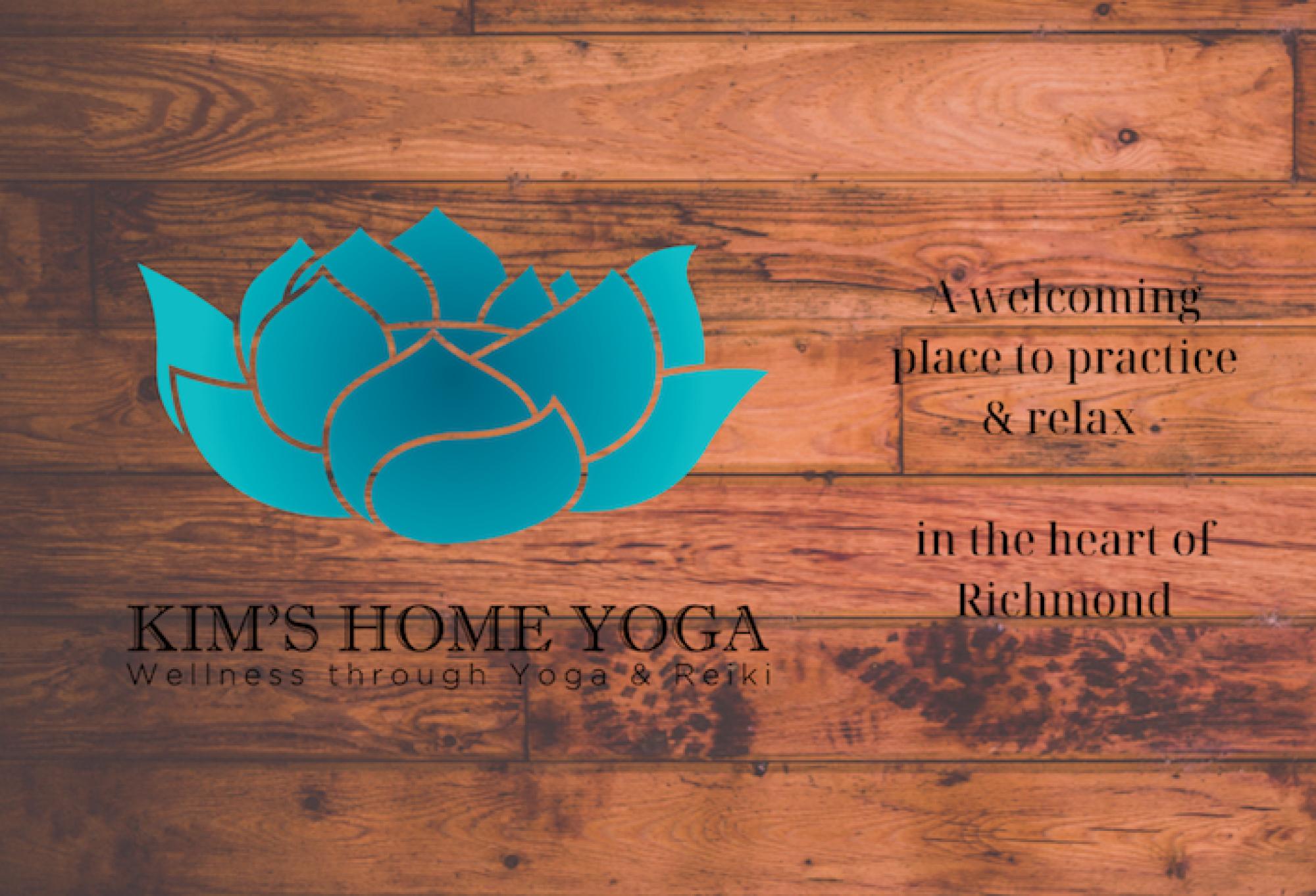 Kim's home yoga